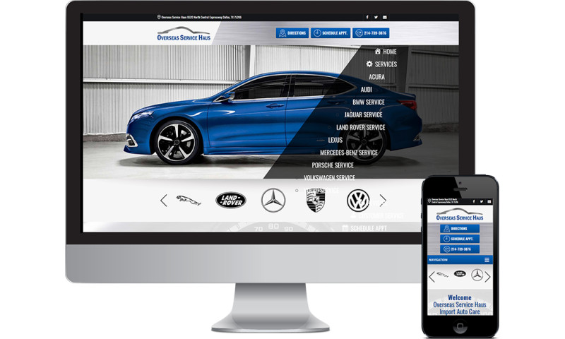 Seota Digital Marketing - Auto Repair Website Integrated to POS