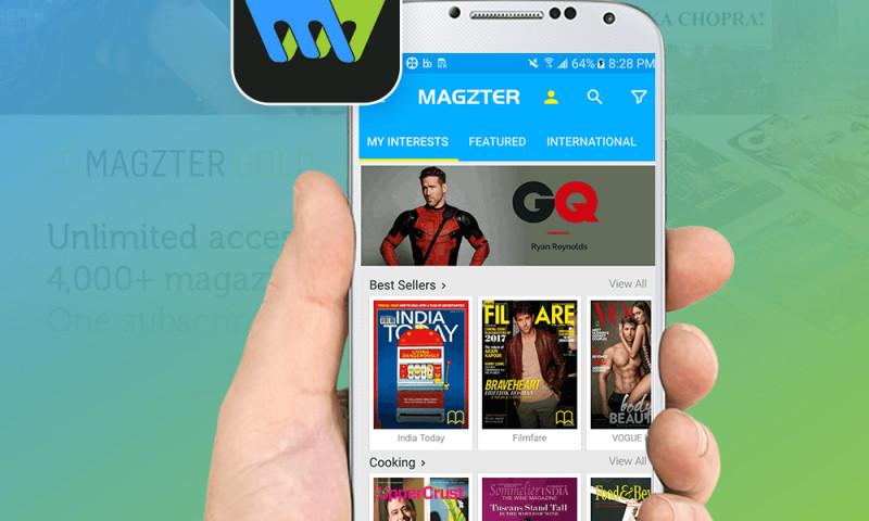 Dot Com Infoway - Magzter-App Development