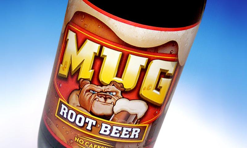 Lien Design - Mug Root Beer bottle label design