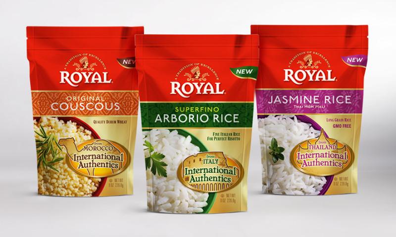 Lien Design - Royal International Authentics food package design