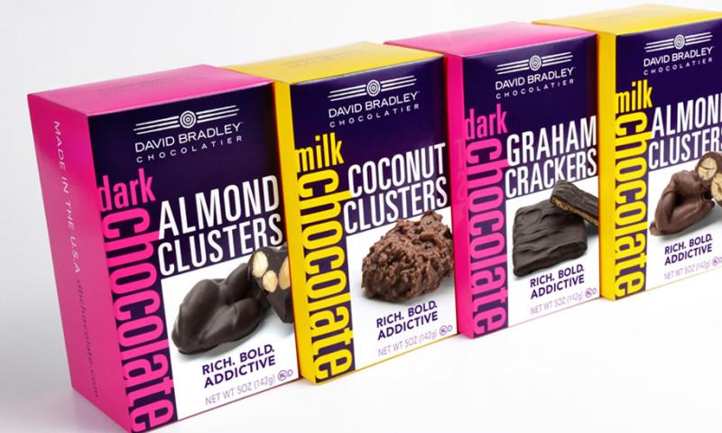 Lien Design - David Bradley Chocolatier package design