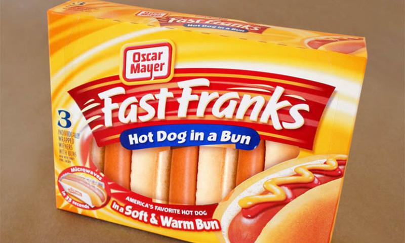 Lien Design - Fast Franks packaging design