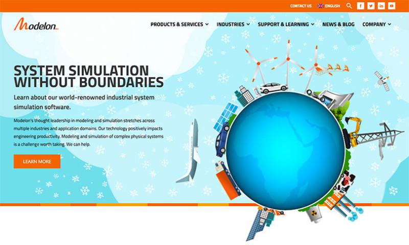 Artbox Creative Studios - Modelon - Custom Website
