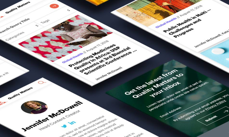 Consensus Interactive - USP – Quality Matters Blog Redesign