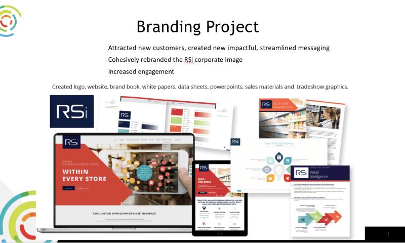 Speaks Marketing Group LLC - Branding project for B2B tech company