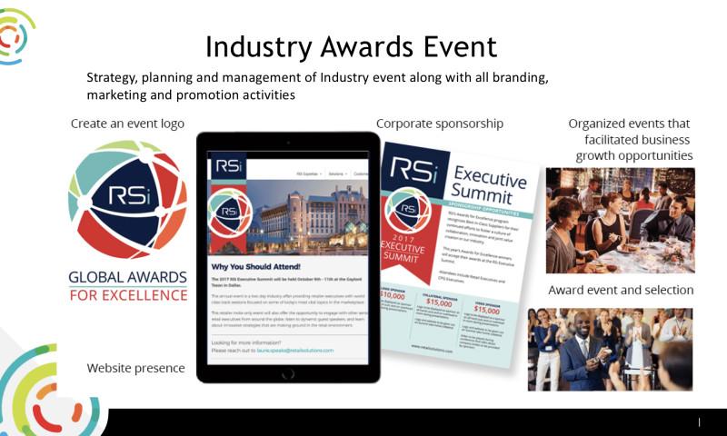 Speaks Marketing Group LLC - Industry Awards program