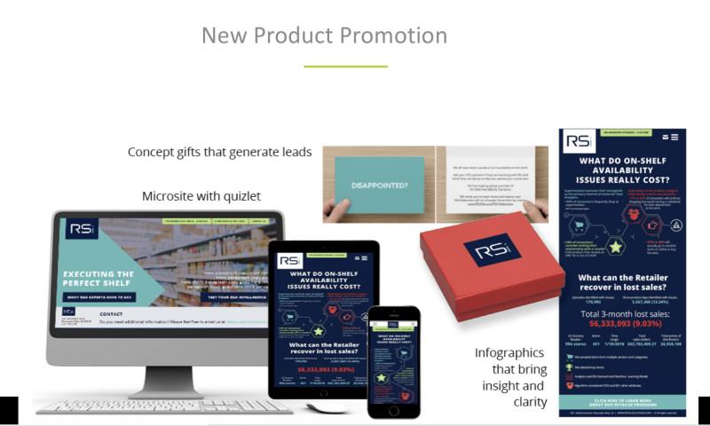 Speaks Marketing Group LLC - New Product promotion