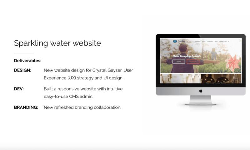 Elevated Internet Marketing - Crystal Geyser Sparkling