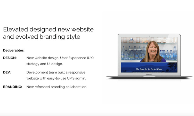 Elevated Internet Marketing - Crystal Geyser Corporate