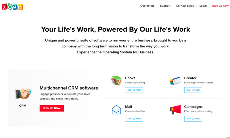 SRIJAN - Simplified and Scalable Drupal CMS for ZOHO
