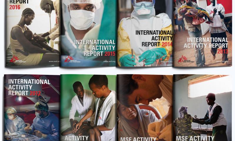 ACW Artifex Creative Webnet - Médecines Sans Frontières - International Activity Reports