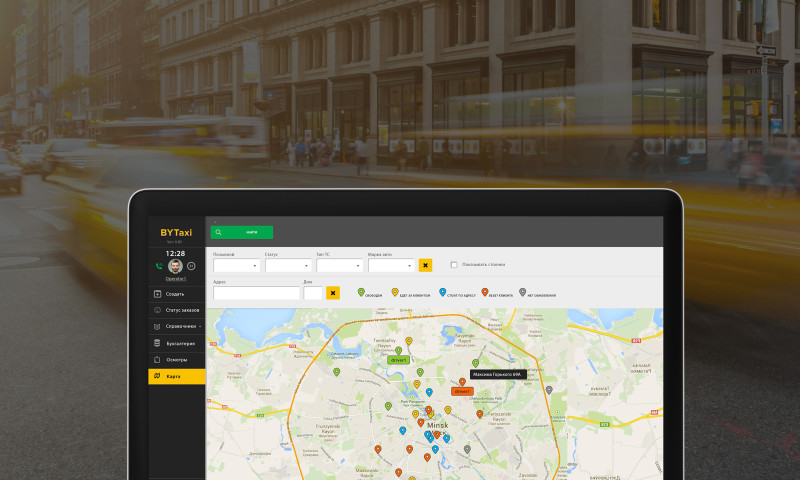 SENLA - Cloud Solutions for Complex Automation of Taxi Business and Logistics Services
