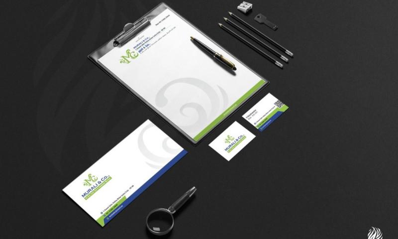 White and Black - Corporate Identity, Graphic Design & Printing.