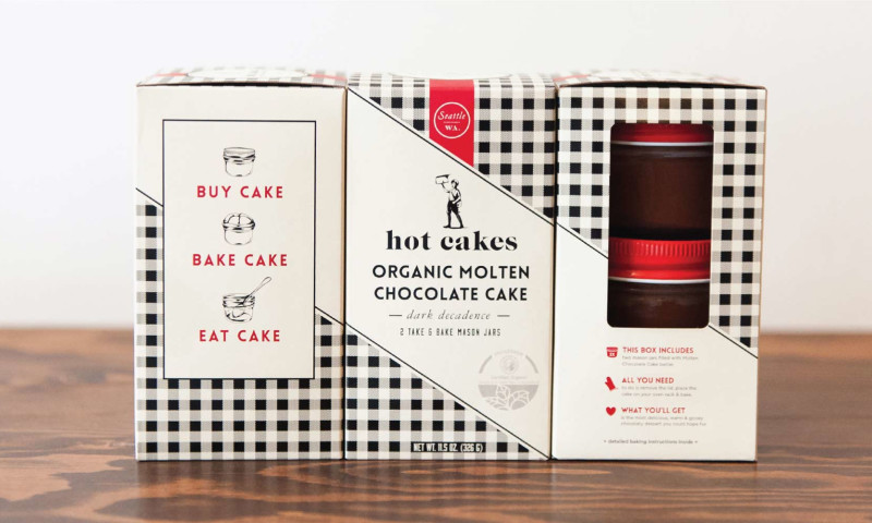 Creative Retail Packaging - Hot Cakes