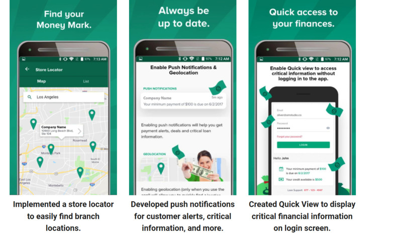 Digital Authority Partners - Payday Lending Mobile App