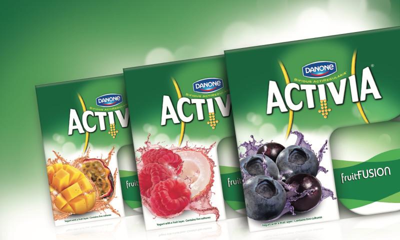 Slice Design - Activia Fruit Fusion