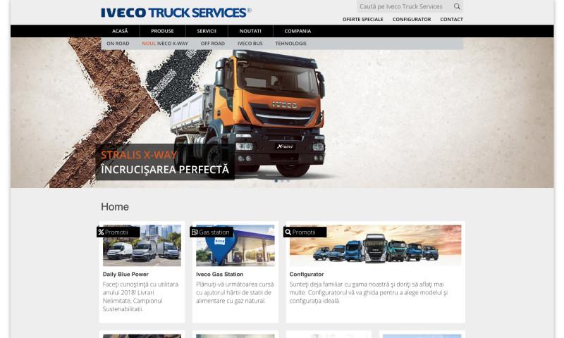 Web Ventures - Iveco Truck Services