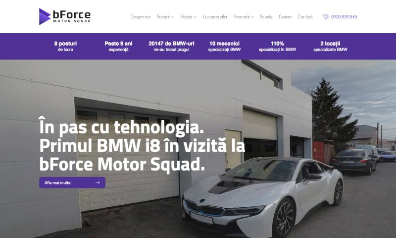 Web Ventures - bForce Motor Squad