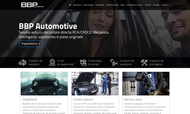 Web Ventures - BBP Automotive