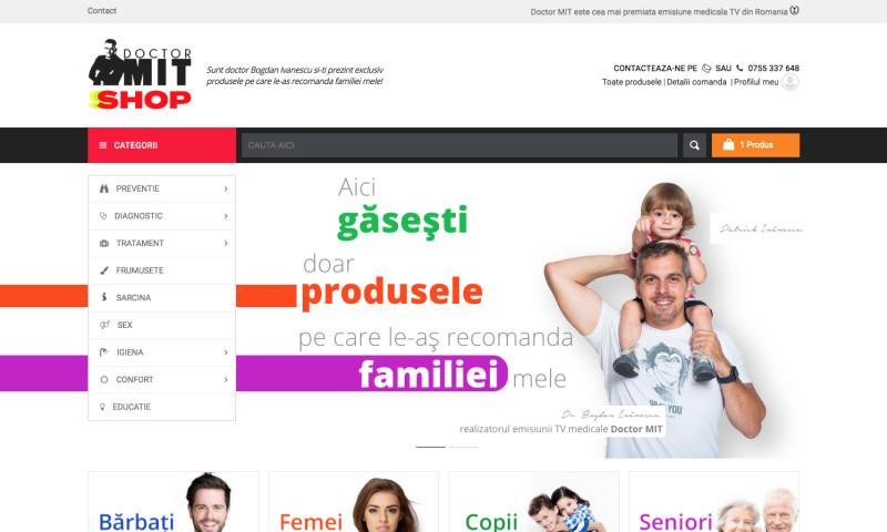 Web Ventures - DoctorMIT Shop