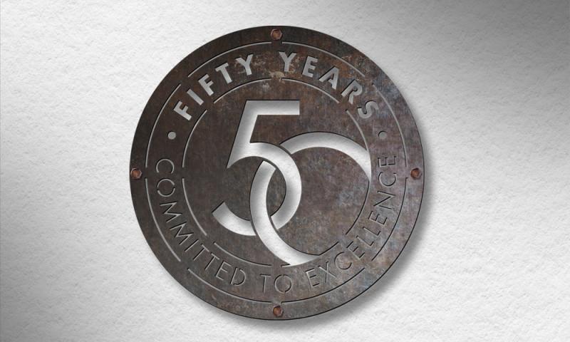 AXIS visual - HK 50 year logo