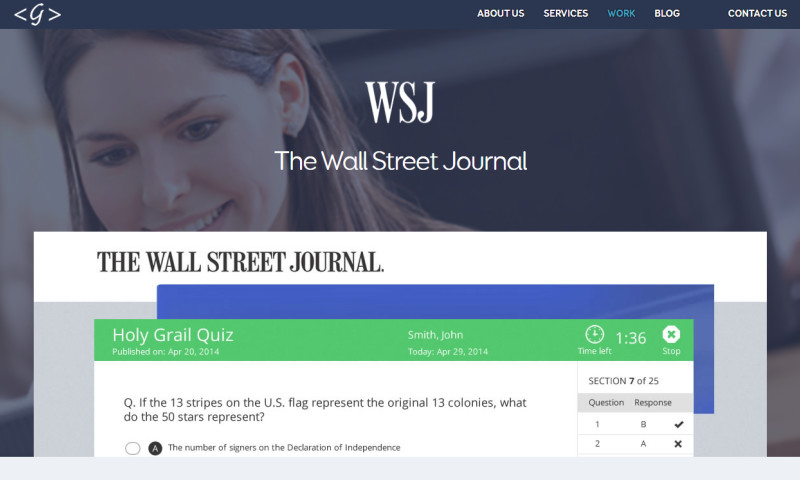 Galaxy Weblinks Inc. - Wall Street Journal