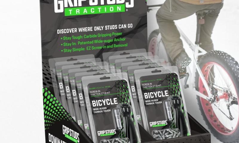 Pixel Productions Inc. - Grip Stud Retail Package Design