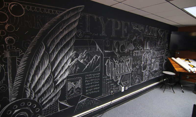 AXIS visual - Office wall
