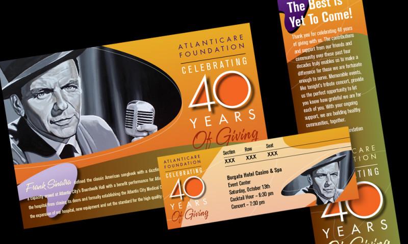 AXIS visual - Atlanticare 40 year concert