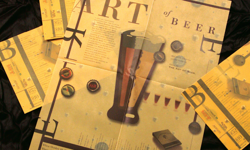AXIS visual - The Art of Beer poster