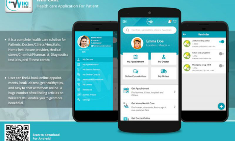 Planet Web Solutions Pvt. Ltd - Wiki Care App: Health care Mobile Application (For Patients)
