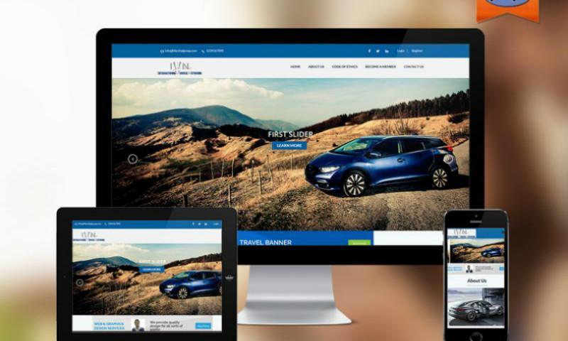 Planet Web Solutions Pvt. Ltd - IVN International Vehicle Network Website
