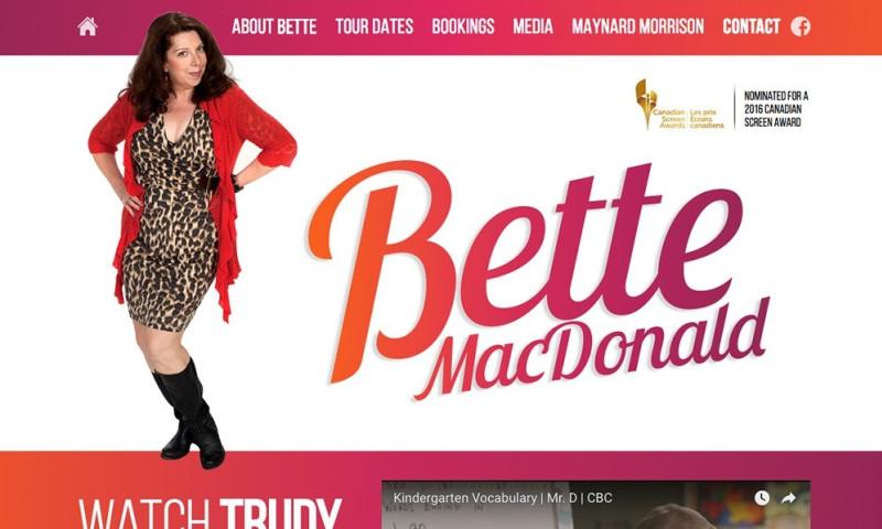 Vibe Creative Group - Bette MacDonald - Actor