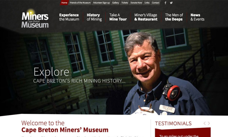 Vibe Creative Group - Miners' Museum