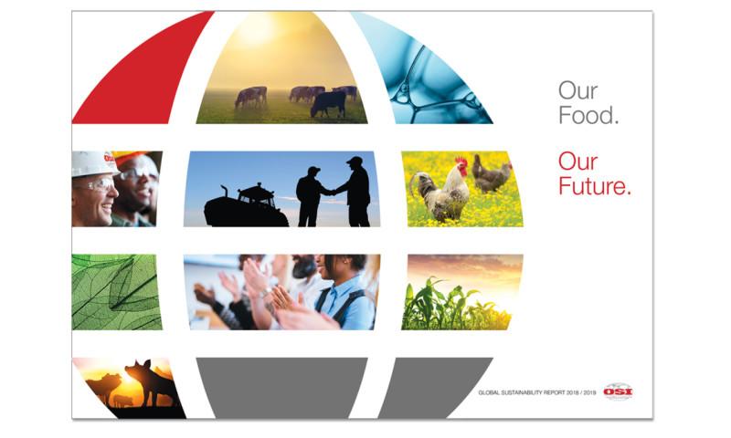 Studio V Design - CSR report for a multi-national corporation