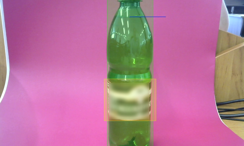 ISS Art, LLC - A solution to detect label position and volume of liquid in the bottle