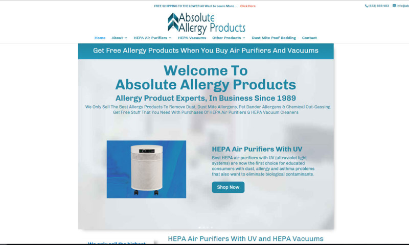 Cat60 Designs, LLC - Absolute Allergy Products