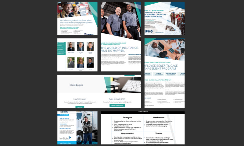Simple Machines Marketing - Website Strategy and Design for Insurance Provider