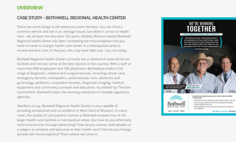 Callis Integrated Marketing - Bothwell Regional Health Center