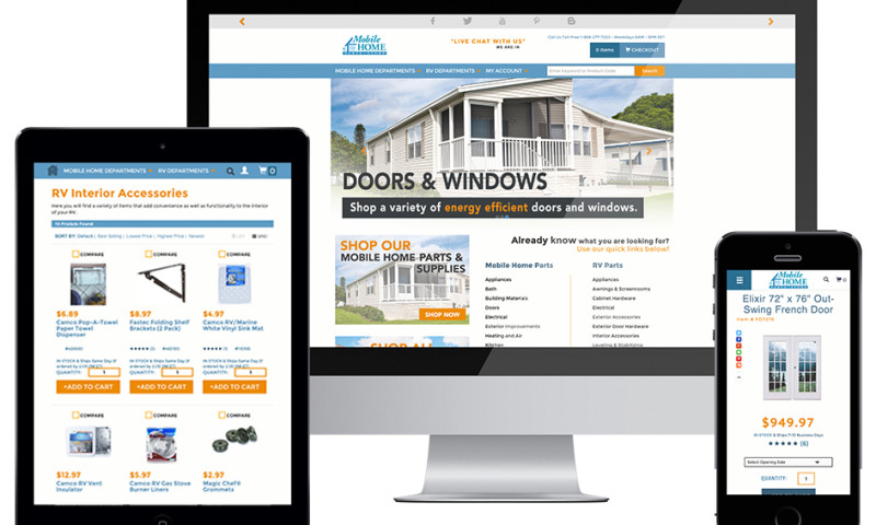 216digital - Mobile Home Parts Store