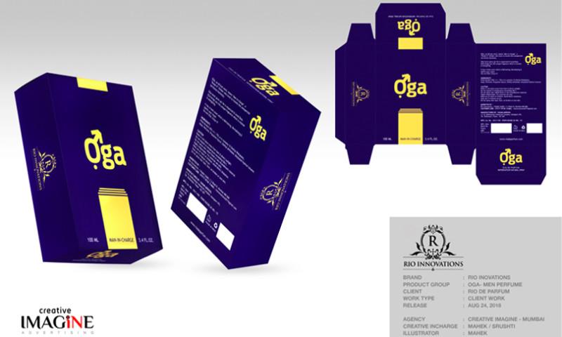 Creative Imagine Advertising - OGA Perfume Packaging