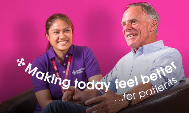 Fit Creative - Royal Free Charity strapline