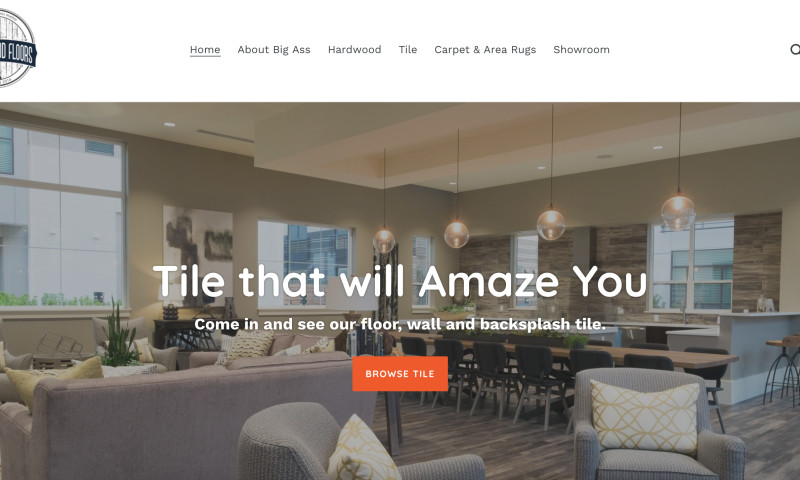 W3 Affinity - Shopify Site for Flooring Company