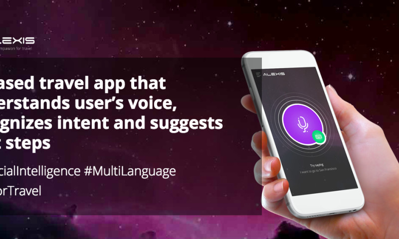 Codewave Technologies - Alexis (Siri for Travel) - AI based travel startup   #NLP #Multi-language #Artificial Intelligence