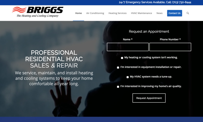 W3 Affinity - HVAC Company Web Design & Marketing
