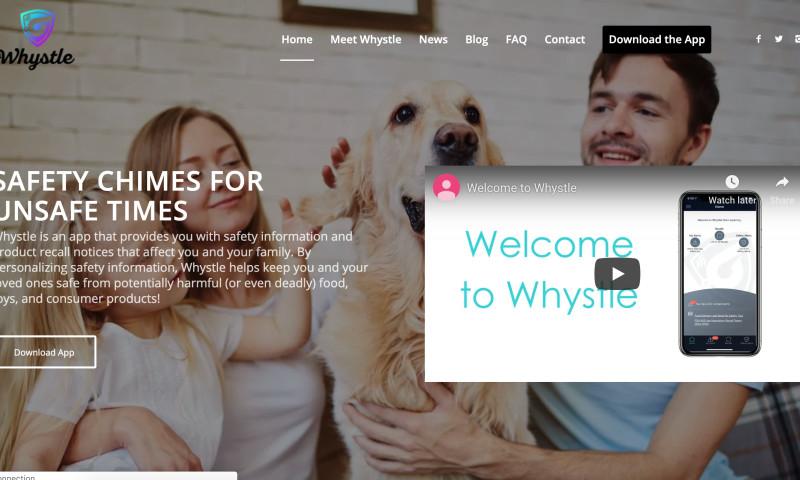 W3 Affinity - News Feed & Alert Mobile App Web Design