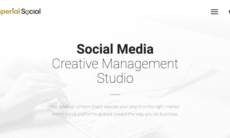 W3 Affinity - Social Media Agency Web Site
