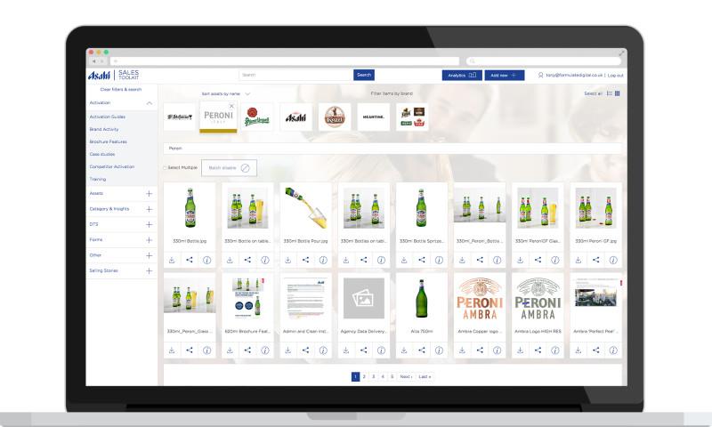 Formulate Digital - Asahi Sales Toolkit