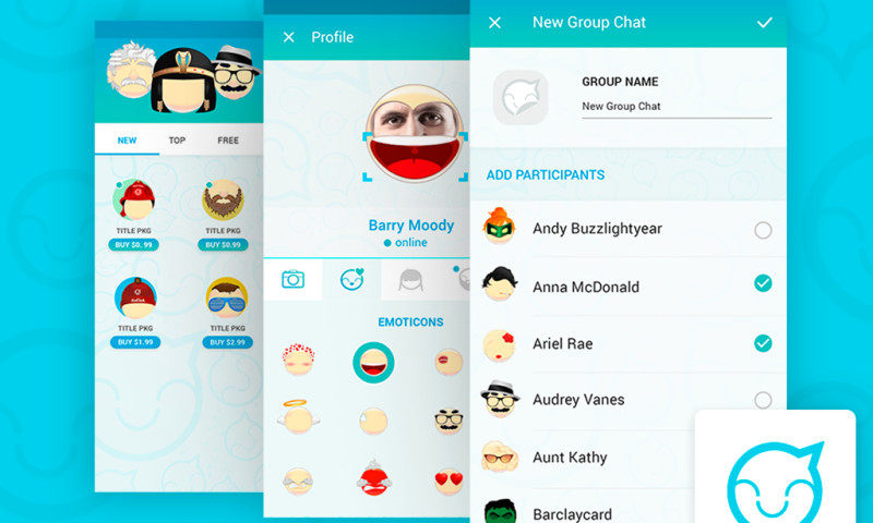 Smartym Pro - Messaging app with smiles editor based on photos