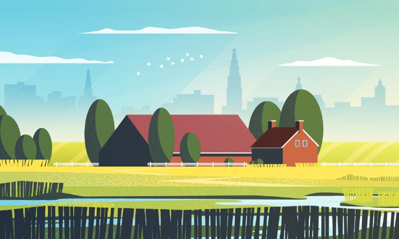 Hound Studio - A shrinking region in the Netherlands